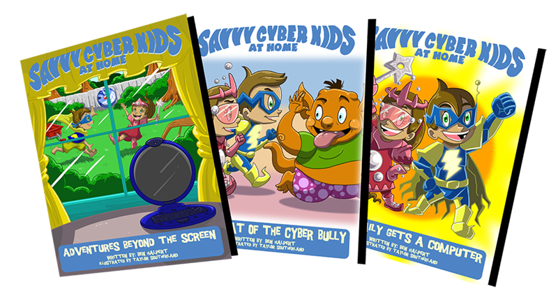 Savvy Cyber Kids at Home book series